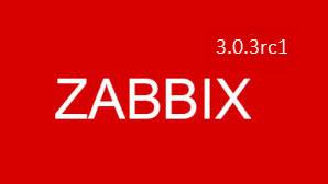 Zabbix 3.0.3rc1