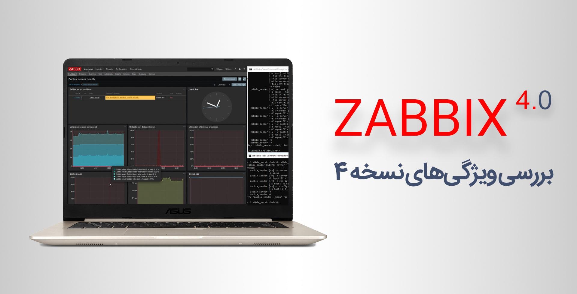 ویژگی های زبیکس نسخه ی ۴٫۰