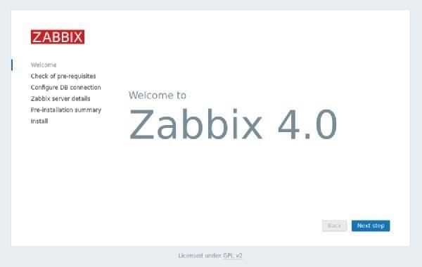 صفحهی اول با یک پیغام خوش آمدگویی از طرف زبیکس