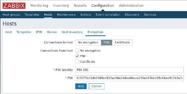 تصویر قسمت Encryption